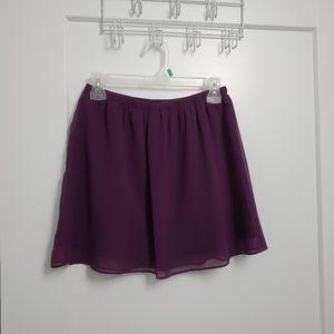 Garage flowy mini skirt